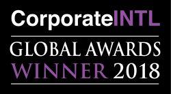 Corporate INTL Global Awards 2018 winner logo