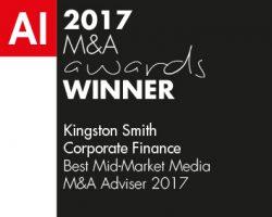 AI 2017 M&A awards winner logo