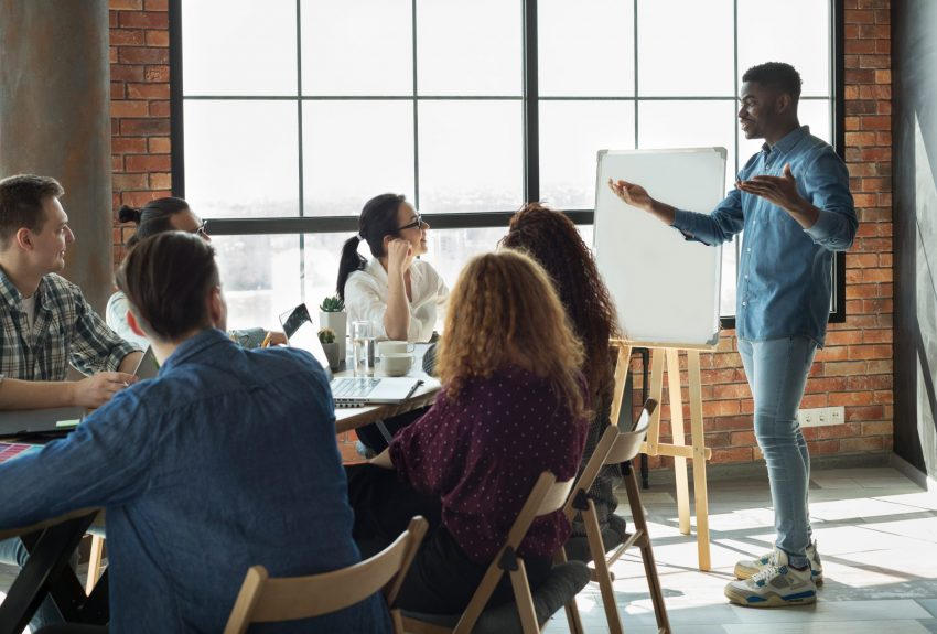 Creative, audit meeting