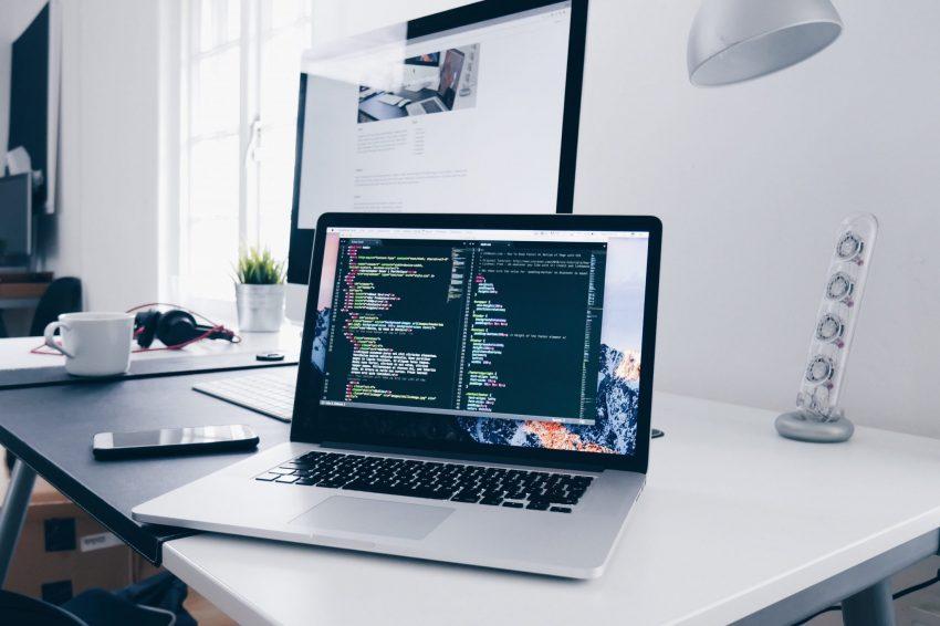 Tech security laptop cyber security