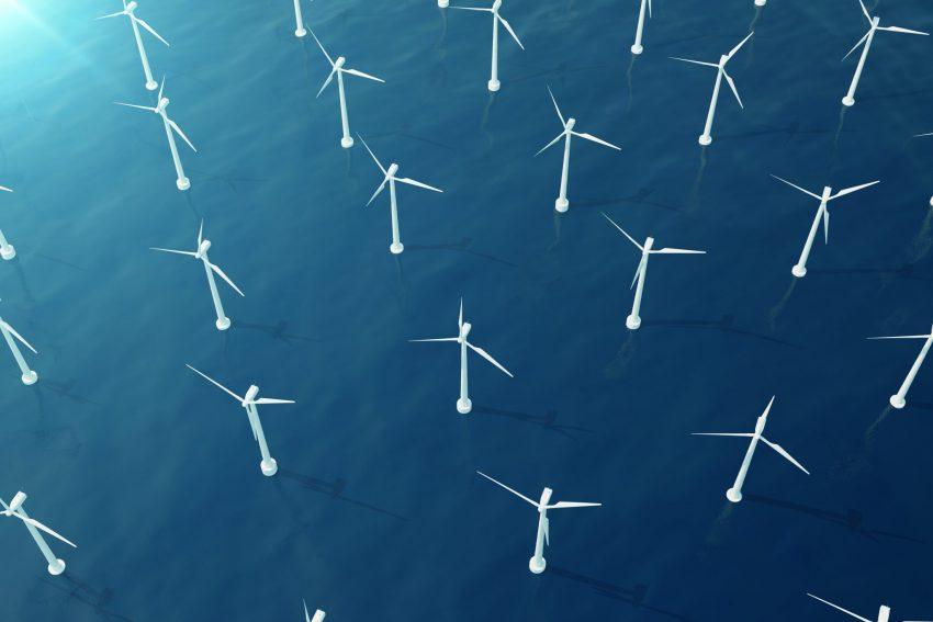 Wind farm; green energy