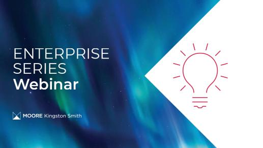 Enterprise series webinar banner