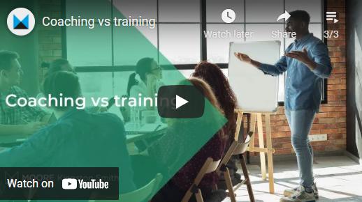 Coaching vs training