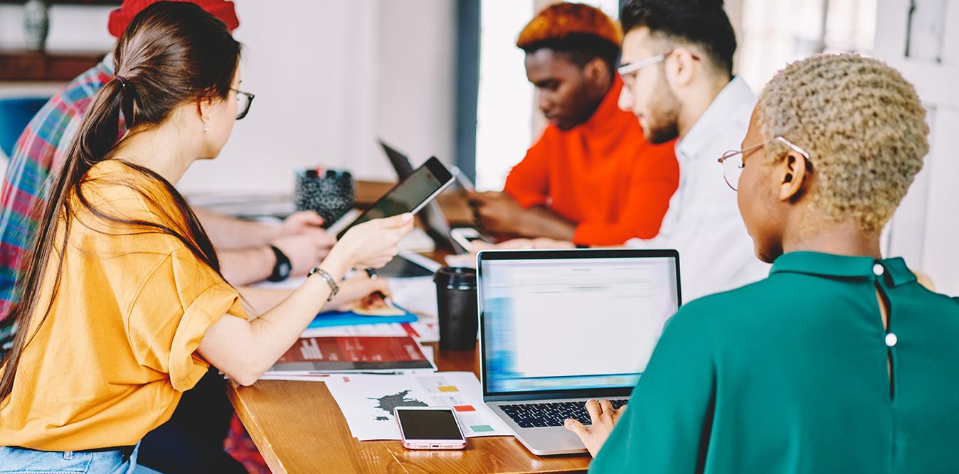 Creative meeting digital transformation