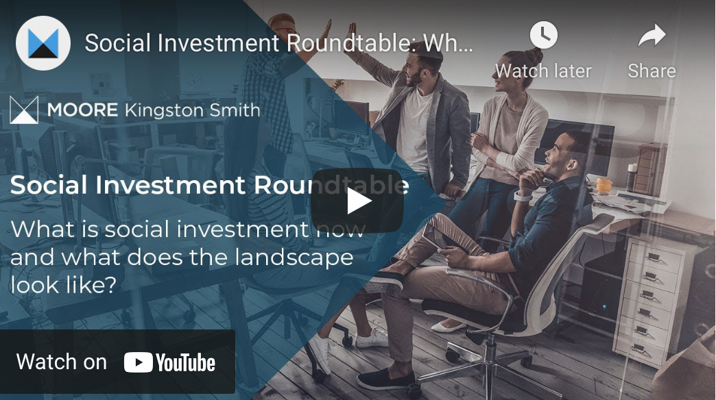Social investment roundtable - YouTube thumbnail