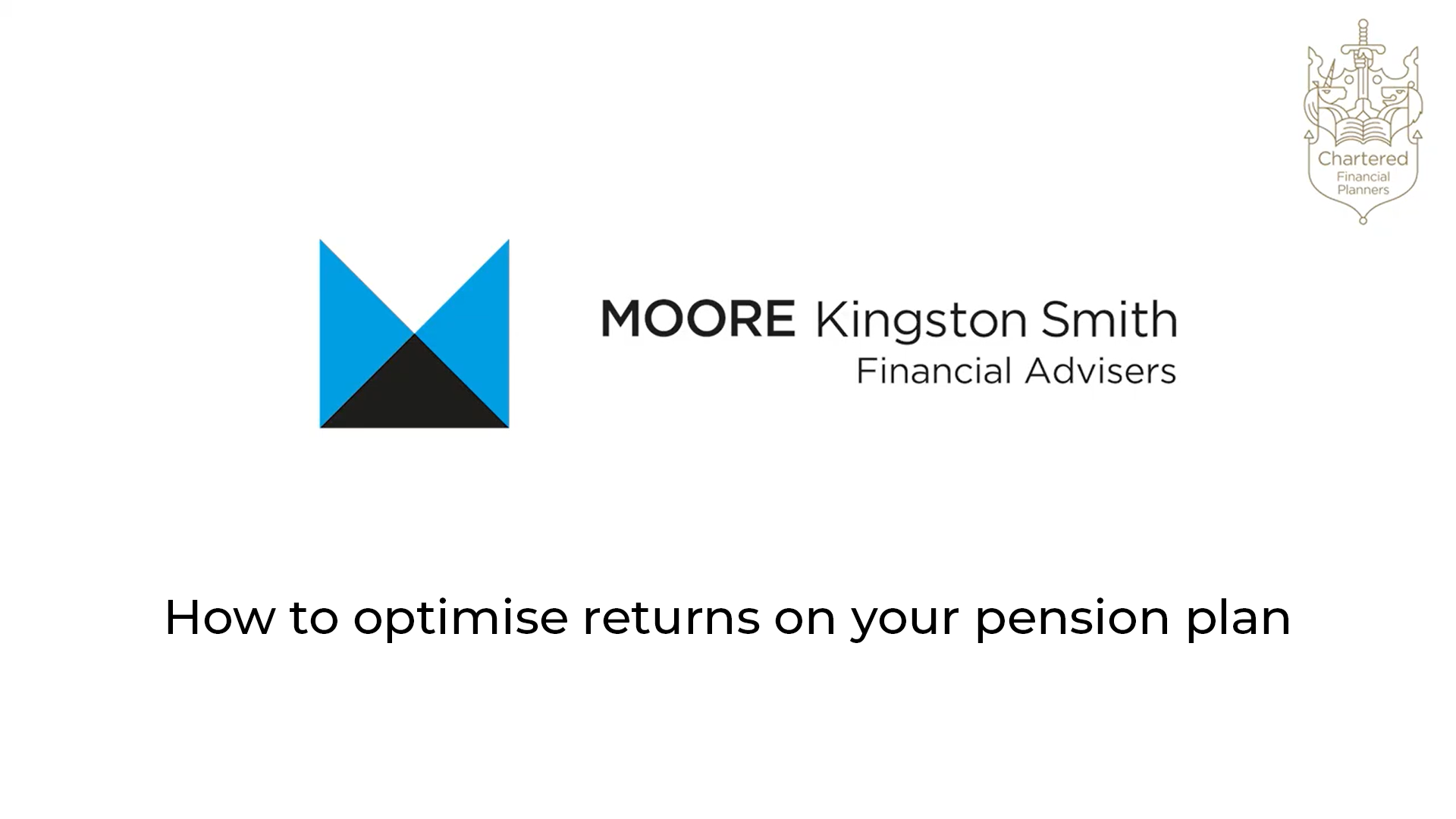 How to optimise returns on your pension plan