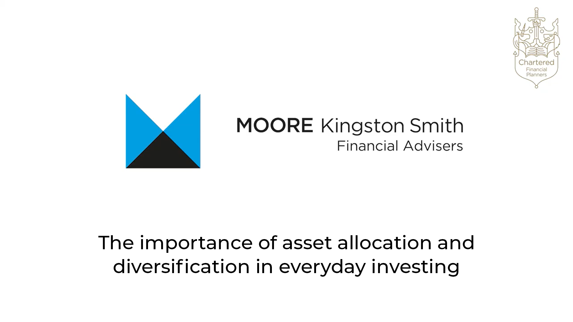 The importance of asset allocation and diversification in everyday investing